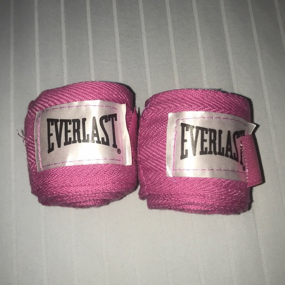 """Everlast 108/"""" Boxing Handwraps-Pink"""